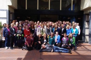 Participants at AOMC5, Melbourne 2015